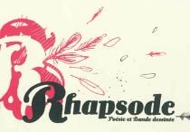 Rhapsode : poésie et bande dessinée -