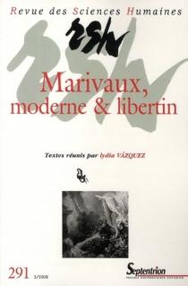 Revue des sciences humaines, n° 291 -