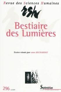Revue des sciences humaines, n° 296 -