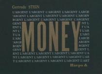 Money - GertrudeStein