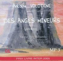 Des anges mineurs : narrats - AntoineVolodine