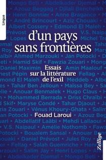 D'un pays sans frontières : essais sur la littérature de l'exil - FouadLaroui