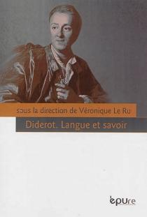 Diderot : langue et savoir -