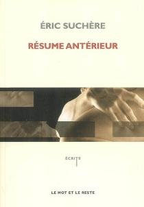 Résume antérieur - ÉricSuchère