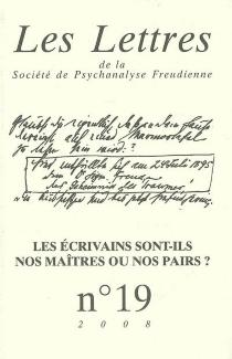 Lettres de la Société de psychanalyse freudienne (Les), n° 19 -