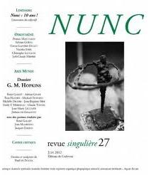 Nunc, n° 27 -