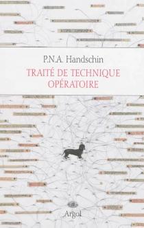 Tout l'univers - P.N.A.Handschin