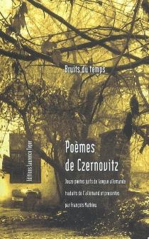Poèmes de Czernovitz : douze poètes juifs de langue allemande -