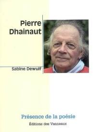 Pierre Dhainaut - SabineDewulf
