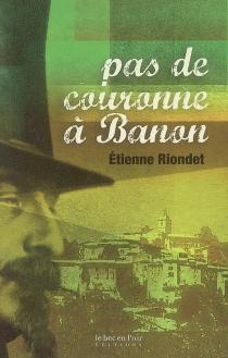 Pas de couronne à Banon - EtienneRiondet