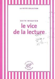 Le vice de la lecture - EdithWharton