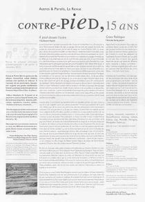 Autres et pareils, la revue, n° 32 -