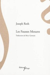 Les fausses mesures - JosephRoth