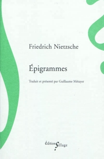 Epigrammes - FriedrichNietzsche