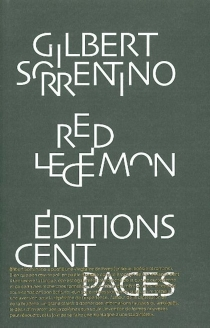 Red le démon - Gilbert Sorrentino