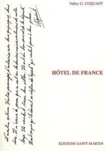 Hôtel de France - Valéry G.Coquant