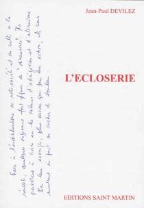L'écloserie - Jean-PaulDevilez