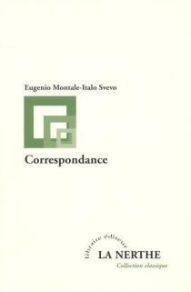 Correspondance - EugenioMontale