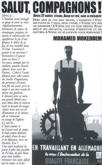 Salut, compagnons ! : toute ressemblance avec les personnages, les lieux et les évènements de ce roman est pure coïncidence - MohamedMokeddem