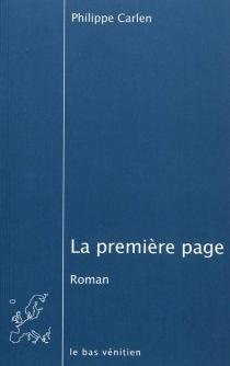 La première page - PhilippeCarlen