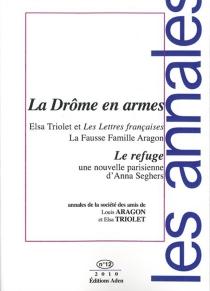 Annales de la Société des amis de Louis Aragon et Elsa Triolet, n° 12 -