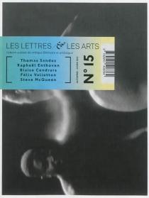 Les lettres et les arts, n° 15 -