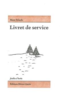 Livret de service - MaxFrisch