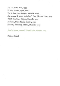Jusqu'au cerveau personnel - PhilippeGrand
