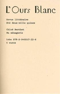 Ours blanc (L'), n° 7 - ChloéBerthet