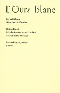 Ours blanc (L'), n° 14 - JérômeDavid