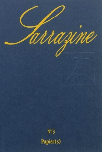 Sarrazine, n° 13 -