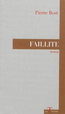 Faillite - PierreBost