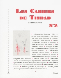 Les cahiers de Tinbad, n° 2 -