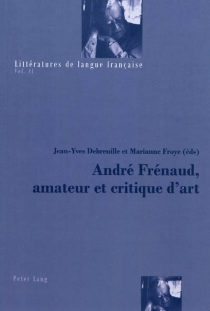 André Frénaud, amateur et critique d'art -