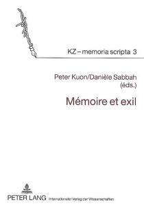 Mémoire et exil -