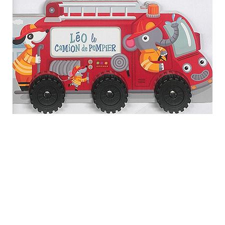 L o le camion de pompier documentaire 3 6 ans espace - Leo le camion pompier ...