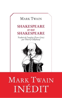 Shakespeare or not Shakespeare - Mark Twain