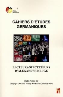 Cahiers d'études germaniques, n° 69 -