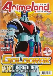 Anime land : le magazine français de l'animation, n° 192 -