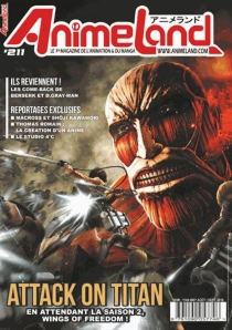 Anime land : le magazine français de l'animation, n° 211 -