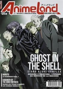 Anime land : le magazine français de l'animation, n° 214 -
