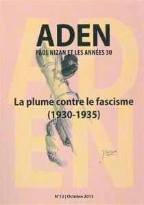 Aden : Paul Nizan et les années trente, n° 12 -