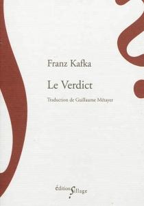 Le verdict - FranzKafka