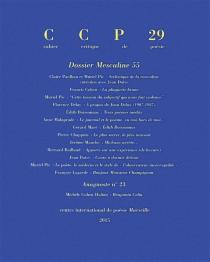 Cahier critique de poésie, n° 29 -
