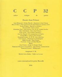 Cahier critique de poésie, n° 32 -