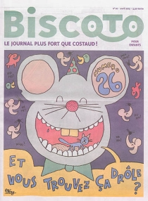 Biscoto : le journal plus fort que costaud !, n° 26 -
