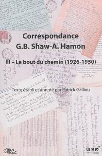 Correspondance George Bernard Shaw-Augustin Hamon - AugustinHamon