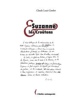 Suzanne et les croûtons - ClaudeLouis-Combet