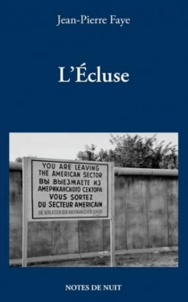 L'écluse - Jean-PierreFaye