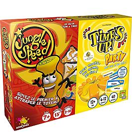 Lot de 2 jeux Jungle Speed + Time's Up - JS14